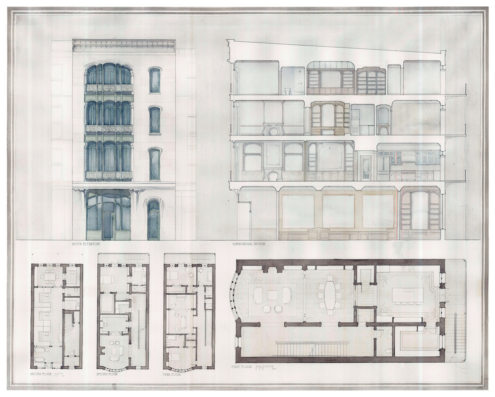 A Chicago Townhouse on Urban Townhouse Floor Plans
